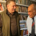 Con Alfonso Bauer
