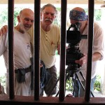 Cuate, Jorge Denti y fotógrafo